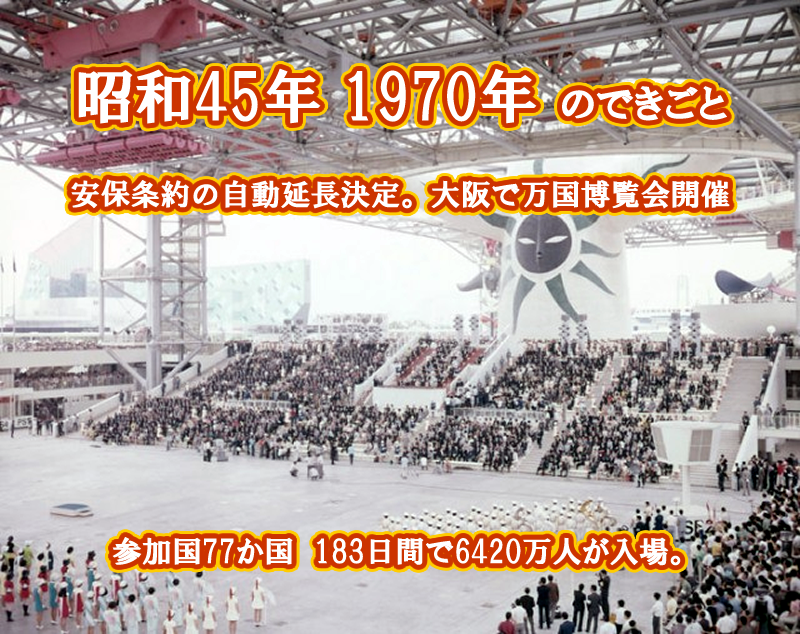 昭和45年 日本万国博覧会