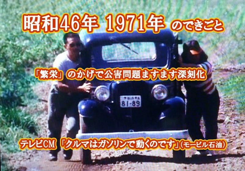 昭和46年 モービル石油