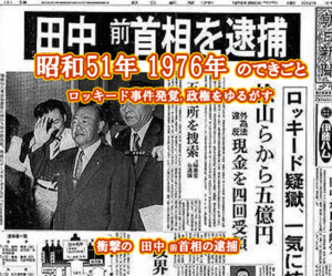 昭和51年 ロッキード事件
