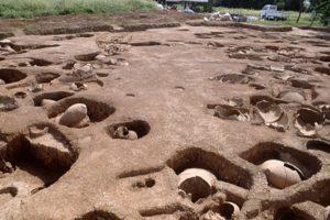 発見当初の吉野ヶ里遺跡