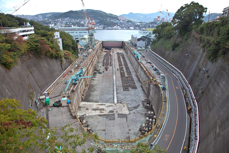 三菱長崎造船所 第三船渠