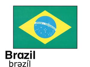こども英語 Brazil ブラジル