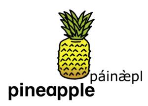 こども英語 pineapple