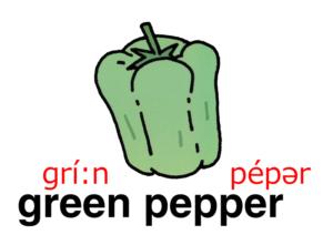 こども英語 green paper