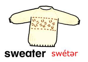 こども英語 セーター