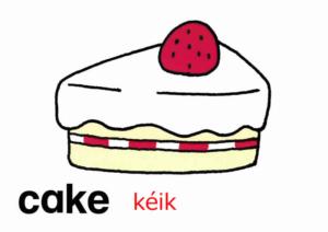 こども英語 cake