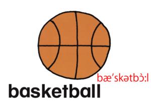 こども英語 basketball