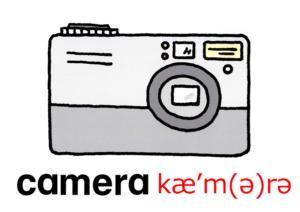 こども英語 camera