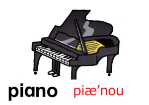 こども英語 piano