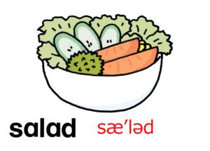 こども英語 salad