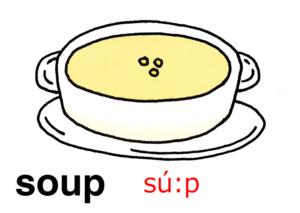 こども英語 soup