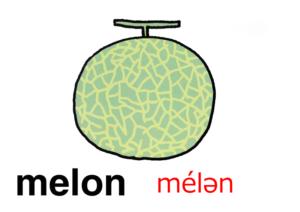 こども英語 melon