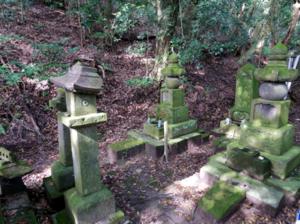 赤山靱負の墓
