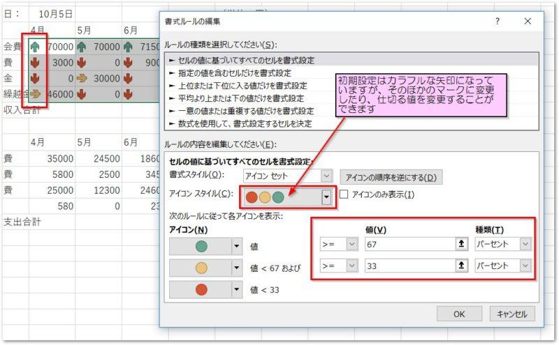 クイック分析ツールのデータバーの書式変更