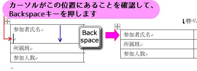 パソコン教室 オンライン エクセル 佐賀 表内の不要な改行