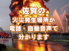 火災場所電話サービス